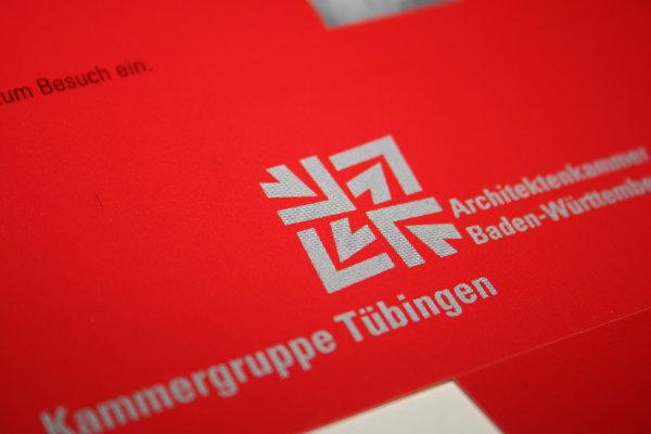 Kunde: Architektenkammer Baden-Württemberg, Kammergruppe Tübingen