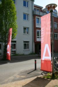 """Ausstellungsgestaltung """"Offenes Architekturbüro"""""""