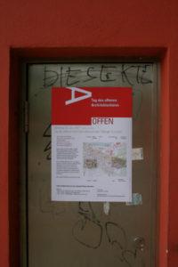 """Offenes Architektubüro"" Plakatgestaltung"
