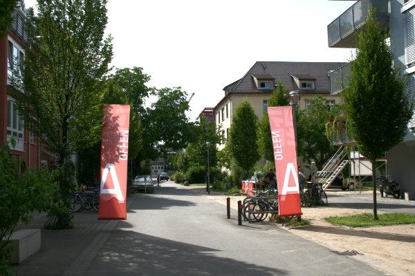 """Ausstellung """"offenes Architekturbüro"""" Tübingen"""