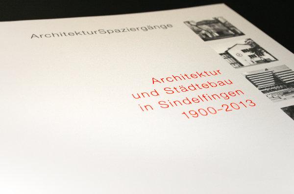 Buchgestaltung Architektur und Städtebau in Sindelfingen 1900–2013
