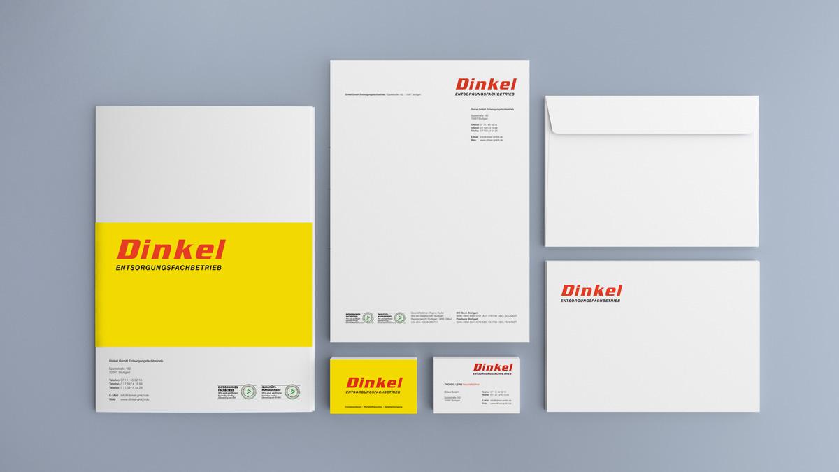 Dinkel Corporate Design und Geschäftsausstattung