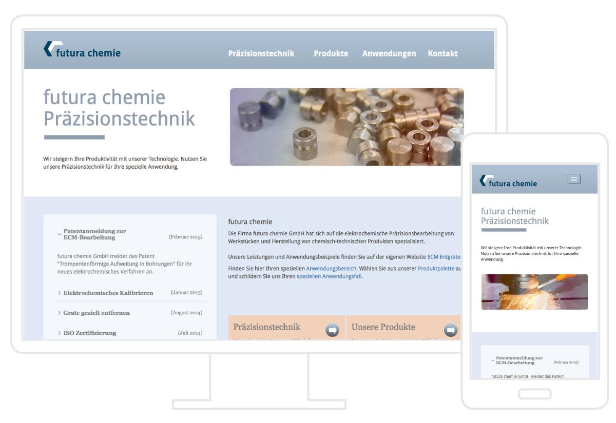 futura chemie Website