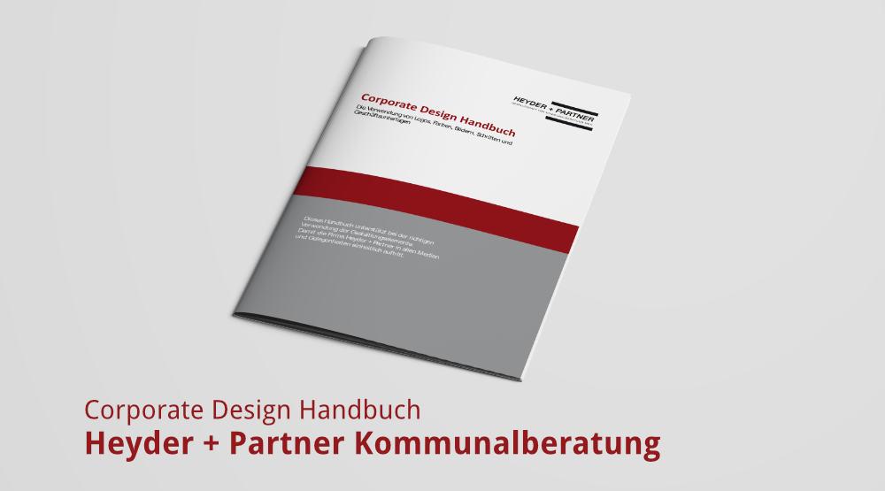 Corporate Design Handbuch für Heyder + Partner