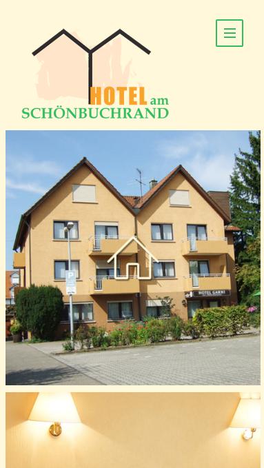 Mobile Website für Hotel am Schönbuchrand Tübingen