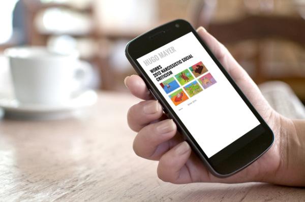 Hugo Mayer mobile Website