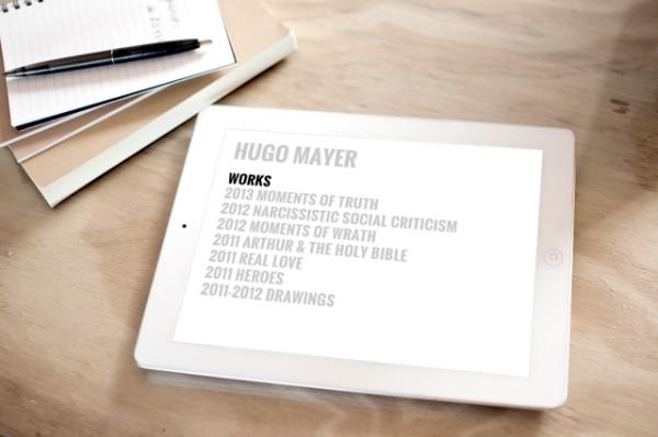 Hugo Mayer Responsive Website
