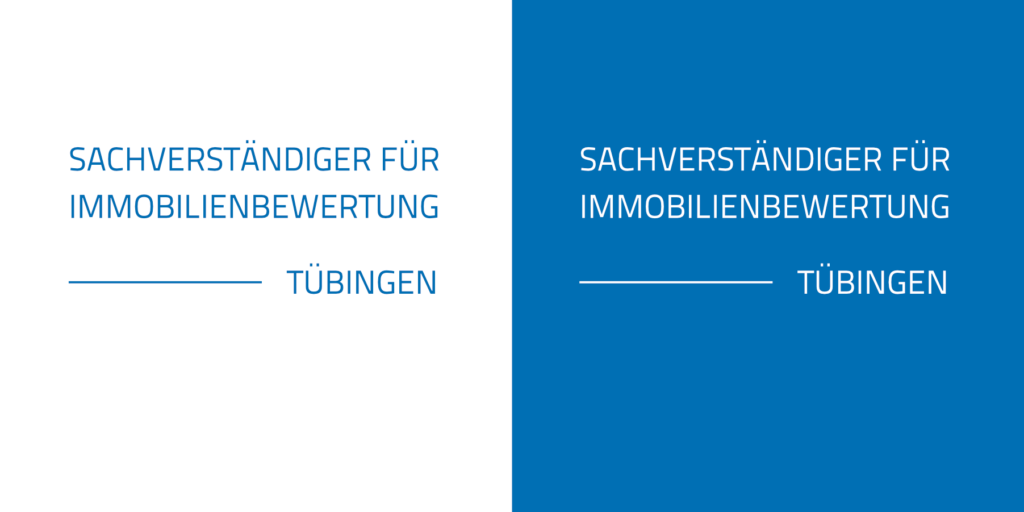 Logodesign Immobilienbewertung