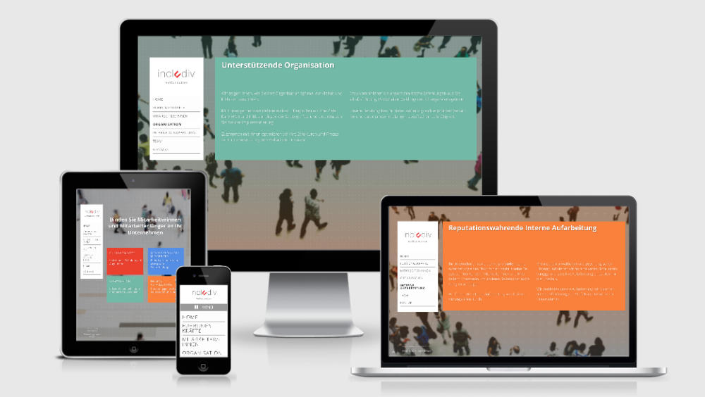 Includiv Responsive Webdesign