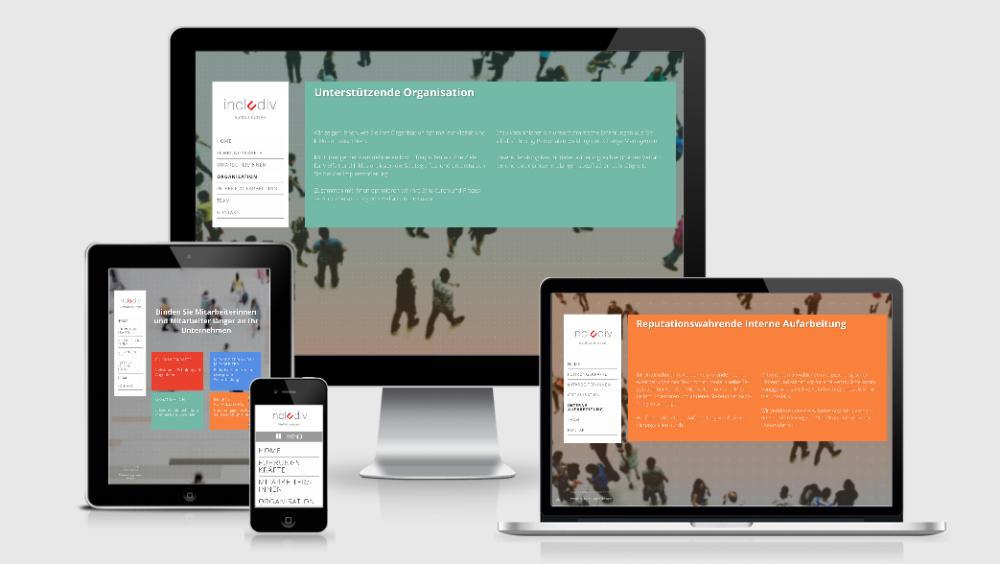 Includiv Responsive Webdesign