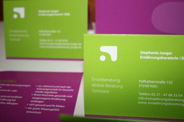 Logogestaltung und Visitenkarte