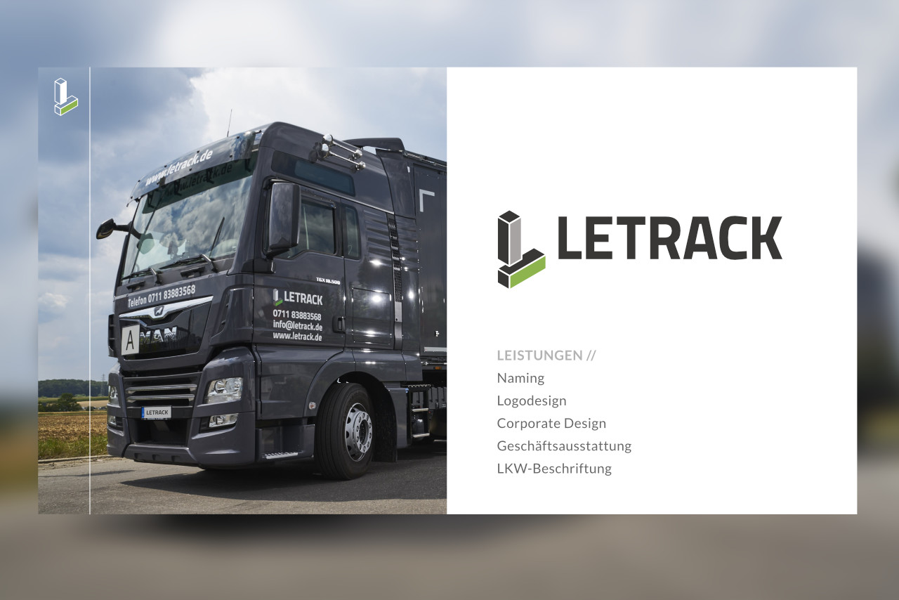 Letrack Corporate Design
