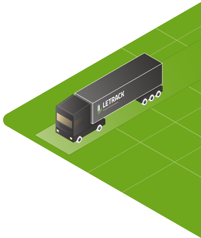 Letrack Illustration LKW