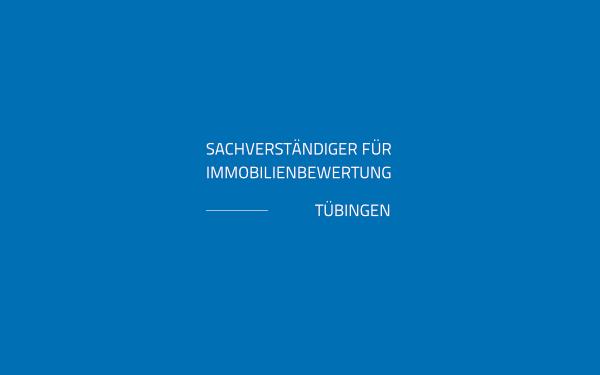 Logodesign Immobilienbewertung Tübingen