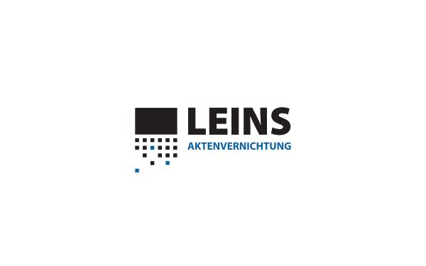 Logodesign LEINS Aktenvernichtung