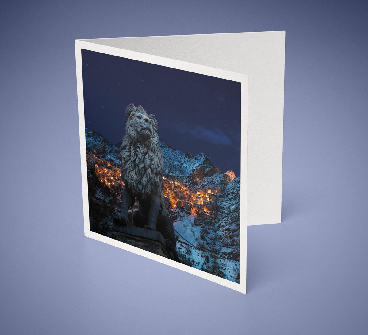 Gestaltung Weihnachtskarte für Piko Uhl