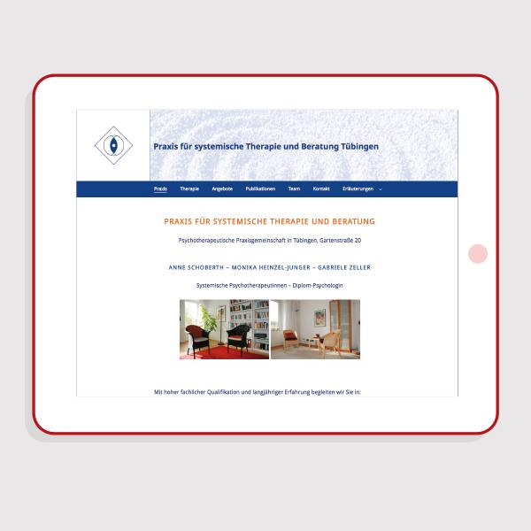 Praxis Webdesign für Tablets