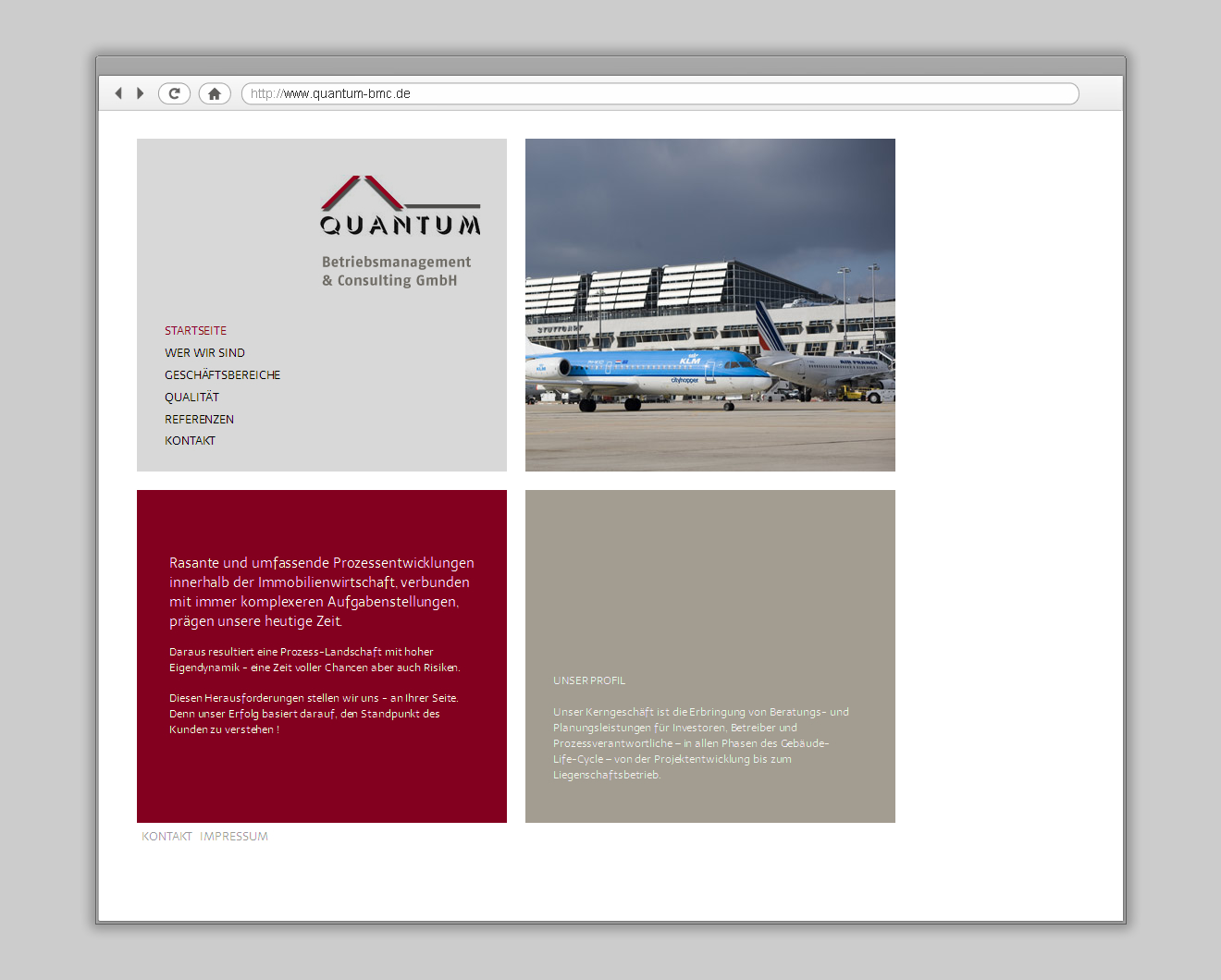 Quantum BMC Website