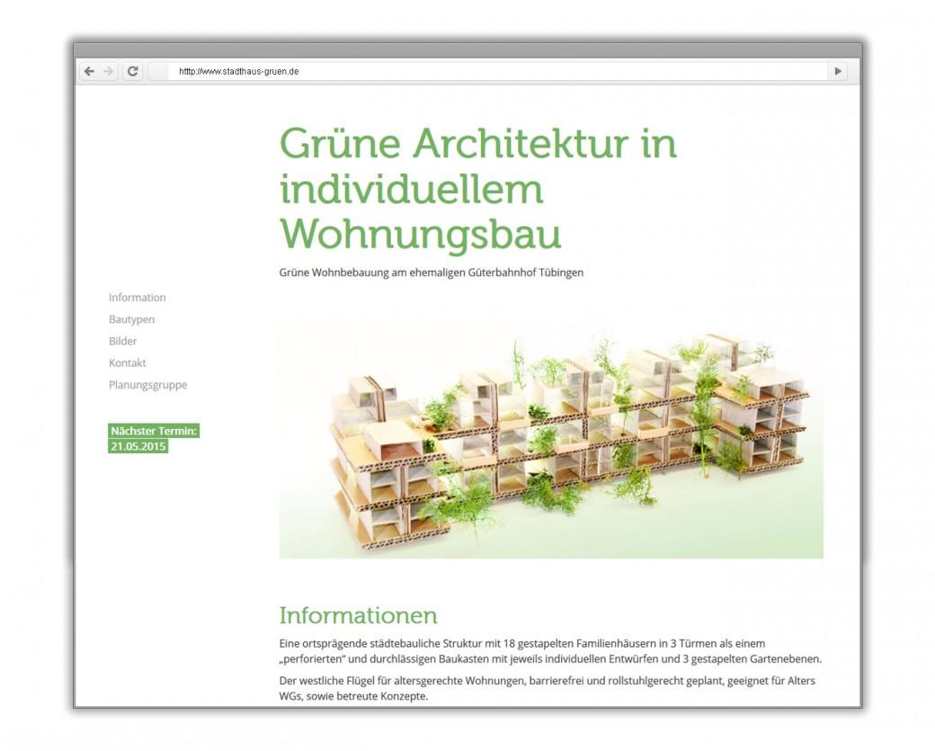 Grünes Stadthaus