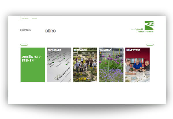Leonberger Landschaftsarchitekturbüro - Webdesign