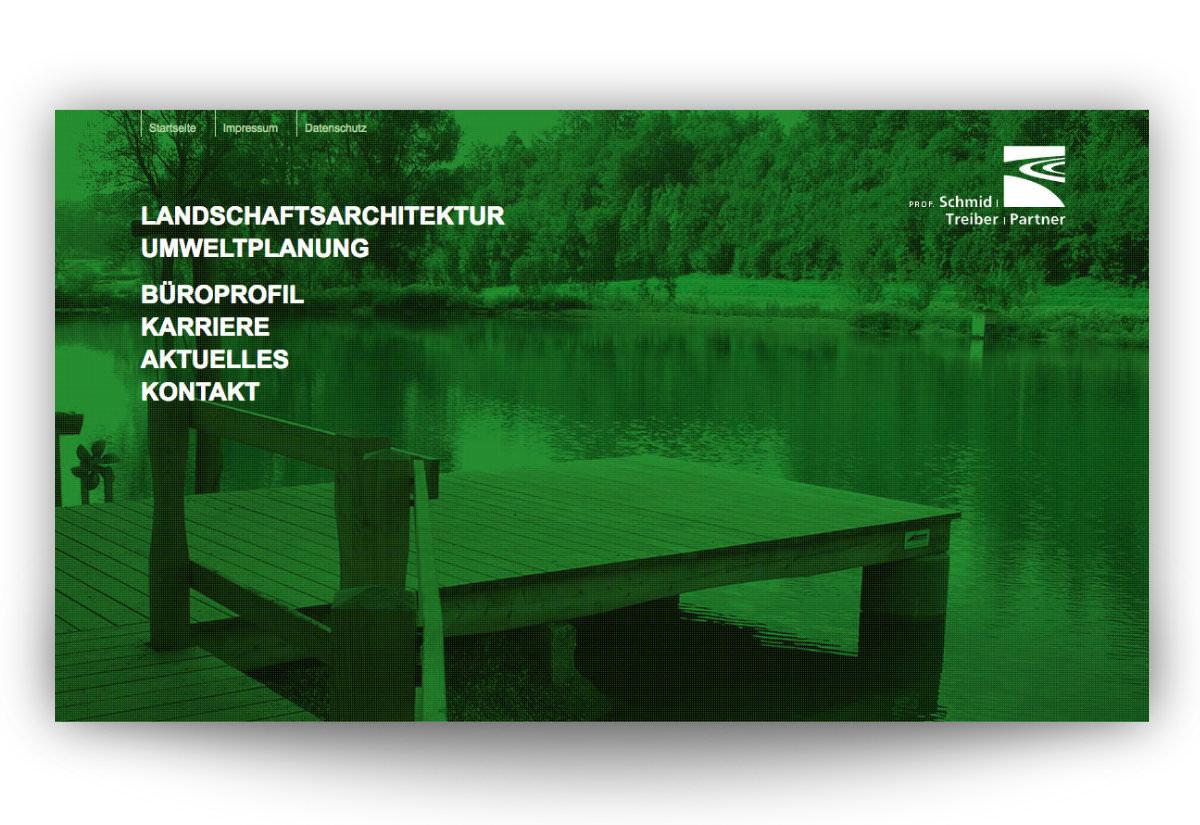 Büro Prof- Schmid Treiber Partner Firmenwebsite
